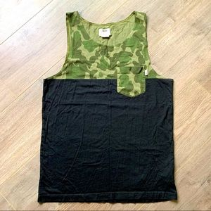VANS Hilby tank camo/black pocket tank